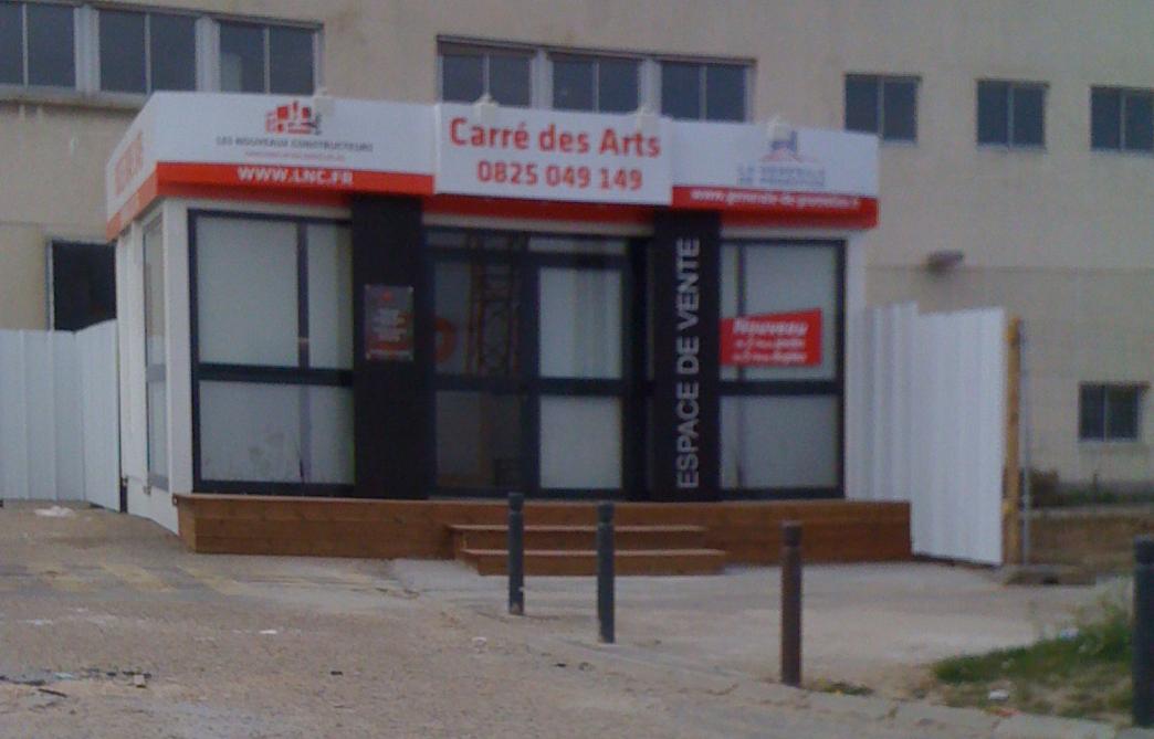 Nouveau bureau de vente carr des arts ou domaine des arts - Www lesnouveauxconstructeurs fr ...